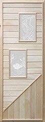 Дверь для бани и сауны Дверь для бани и сауны Doorwood №2