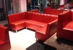 Мебель для баров, кафе и ресторанов ВФТ Диван угловой для бара Вариант 9