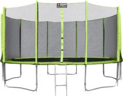 Alpin Батут 16ft с защитной сеткой и лестницей (490 см)