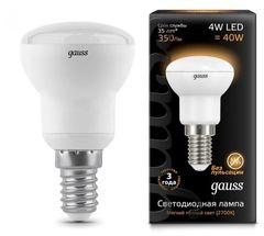 Лампа Лампа Gauss 106001104, E14, R39, 4Вт