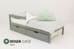 Детская кровать Детская кровать Бельмарко Skogen Classic графит