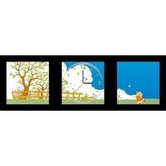 Декоративная светотехника Feron Часы-постер NL3
