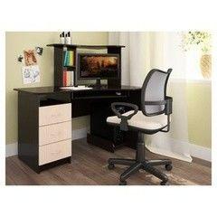 Письменный стол Интерлиния СТ-003 Дуб Венге/Дуб Млечный