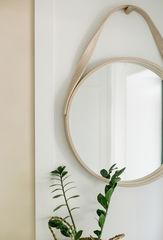 Зеркало BentWoodStudio настенное круглое с подвесной петлей