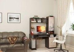 Письменный стол SV-Мебель №6 0140 (дуб млечный/дуб венге)