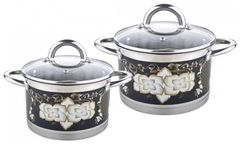 Наборы посуды Pomi d'Oro Fiore PSS-640033 4 пр.