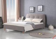 Кровать Кровать Halmar Doris (серая ольха)