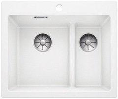 Мойка для кухни Мойка для кухни Blanco Pleon 6 Split (521693) белый