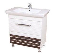 Мебель для ванной комнаты Аква Родос Тумба с умывальником Империал 65 (венге)