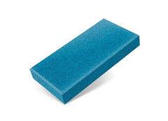 """Резиновая плитка Rubtex Брусчатка """"Кирпич"""" 200x100 (толщина 20 мм, голубая)"""