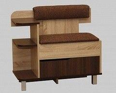 Тумба для обуви Мебель-Класс ВА-012.3 (дуб сонома/дуб шато, правая)