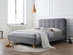 Кровать Кровать Signal Tiffany Velvet 160x200 (серый)