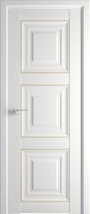 Межкомнатная дверь Раздвижные двери ProfilDoors 96U Аляска золото
