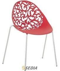 Кухонный стул Sedia Aero B (красный)