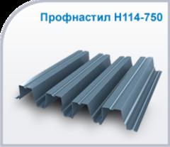 Профнастил Профнастил Изомат-Строй Н-114-750-0.9-Zn