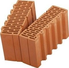 Блок строительный Керамический блок Wienerberger Porotherm 38 1/2
