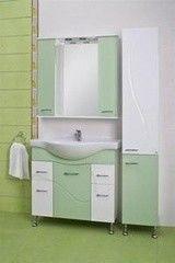 Зеленая мебель для ванной Ювента Francheska 87 Салатовый
