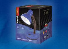 Настольный светильник Uniel TLI-201 Black. E27