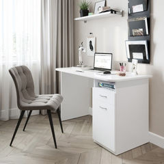 Письменный стол DOMUS SP007R снежно-белый