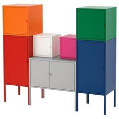 Шкаф металлический IKEA Ликсгульт 092.488.60
