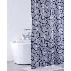 Iddis Штора для ванной комнаты Flower Lace Grey 410P20RI11