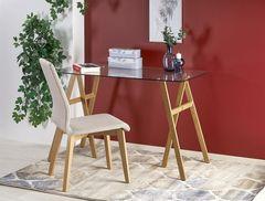 Письменный стол Halmar B35 (стекло/дуб медовый)