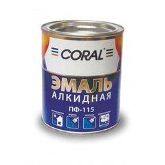 Эмаль Эмаль Coral ПФ-115 0.5л