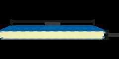 Сэндвич панель Сэндвич панель Лиссант Стеновая PIR 80 мм