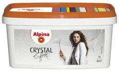 Декоративное покрытие Alpina Crystal Effekt Silber (1л)