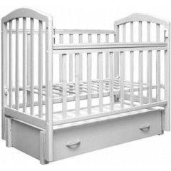 Детская кровать Кроватка Антел Алита 6 белый