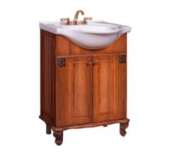 Мебель для ванной комнаты Калинковичский мебельный комбинат Тумба 650 Баккара КМК 0453.1 (орех экко)