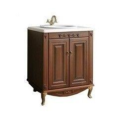 Мебель для ванной комнаты Атолл Тумба Полини 85 scuro