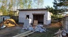 Строительство из газосиликатных блоков СтройСпецПартнер Гараж в п. Колодищи