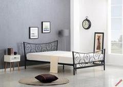 Кровать Кованая кровать Halmar Ramona черная