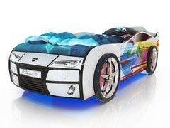 Детская кровать Детская кровать Romack Kiddy (белая - стрелы)