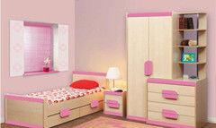 Детская комната Детская комната Олмеко Лайф розовый