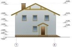 ХоумСистемс Двухэтажный коттедж 1
