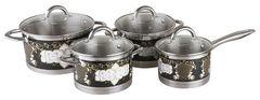Наборы посуды Pomi d'Oro Fiore PSS-640034 8 пр.