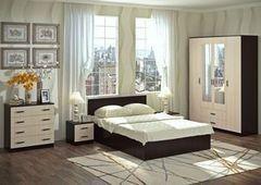 Спальня Настоящая мебель Ронда венге