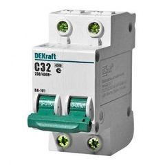 DEKraft Автоматический выключатель ВА101-2P-032A-C (11069DEK)