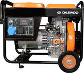 Генератор Генератор  Дизельный генератор Daewoo Power DDAE 6000XE