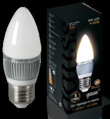 Лампа Лампа Gauss 6W E27 2700K LED 220V (EB103102106)