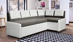 Кухонный уголок, диван  Кухонный диван Оскар (серо-белый)