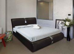 Кровать Кровать ZMF Милана (сп. место 180х200 см., черная)