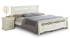 Кровать Кровать Домовой 6-966-WSR-BW (160х200) слоновая кость
