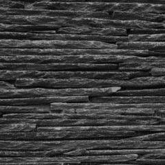 Натуральный камень Натуральный камень АЛЬТЕРфасад 3D панель из сланца Slim Black