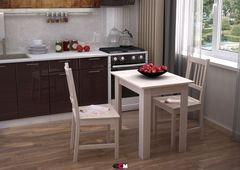 Обеденный стол Обеденный стол Стендмебель 2 (Дуб Белфорт/Шимо светлый)