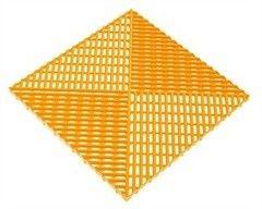 Альта-Профиль Универсальная решетка с дополнительным обрамлением желтая