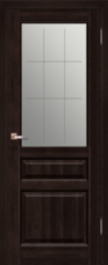 Межкомнатная дверь Межкомнатная дверь Поставский мебельный центр Венеция ДО (венге)