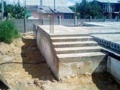 Лестница из бетона Монолит Пример 66